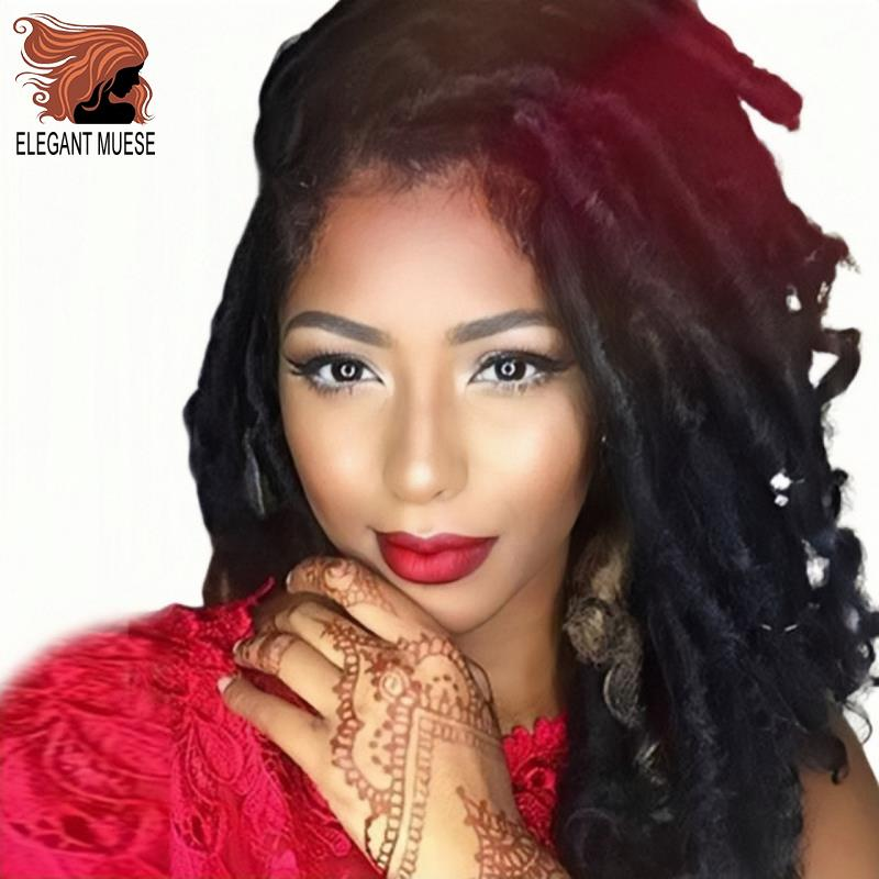 ELEGANT MUSES  Goddess Faux Locs Synthetic 24Strands 16 Inch&20 Inch Ombre Grey Braid Hair Soft Pre Looped Crochet Braids