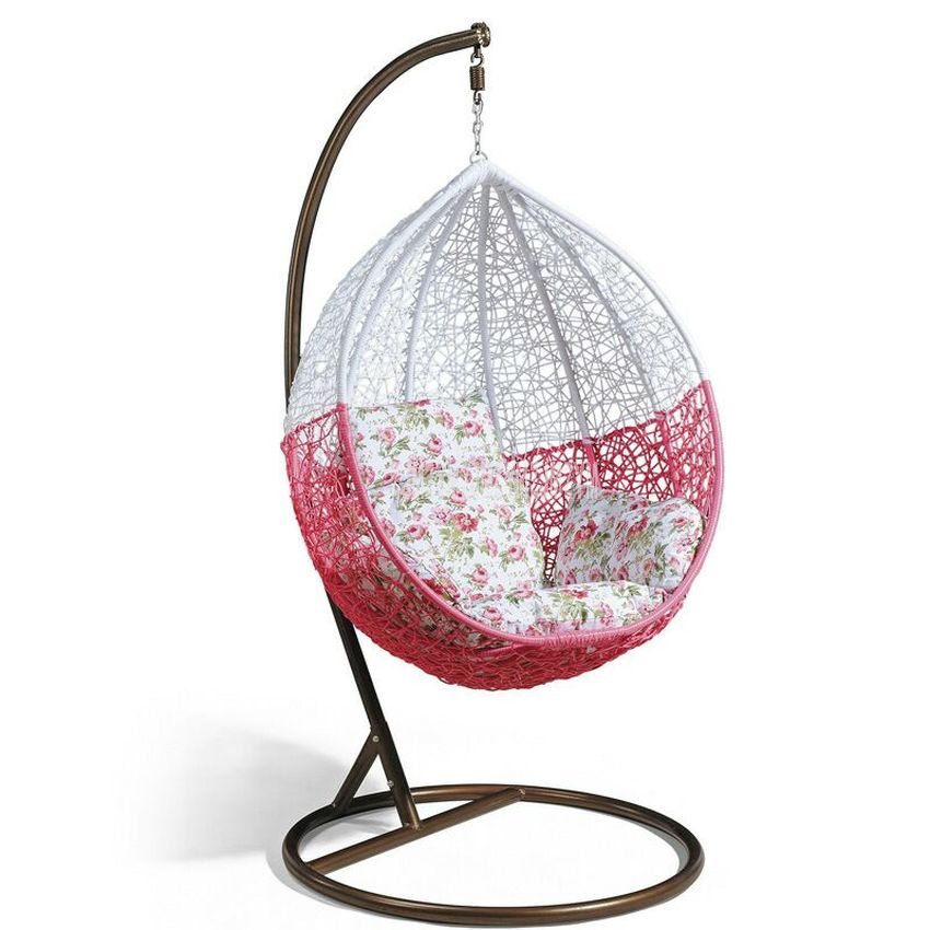 Swing Hanging Chair Household Home Balcony Living Room Leisure Lazy Chair PE Rattan Weave Single Seat Fashion Home Furniture