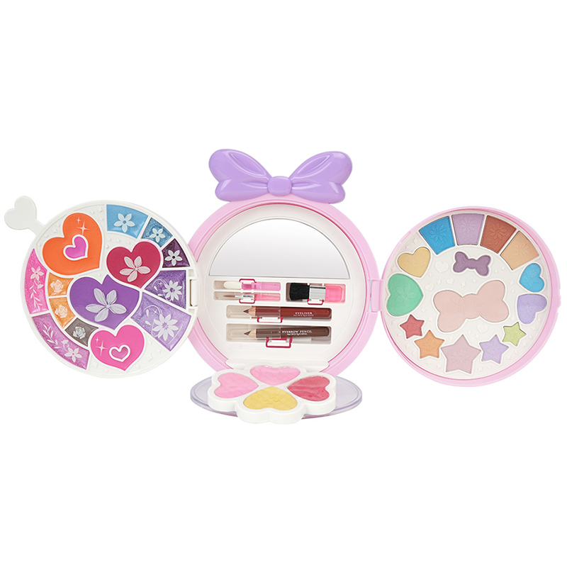 Girls Pretend Play Makeup Set For Children, Kids Make It Up For Little Girls Princess Toys For Girl 2 3 4 5 6 Year Old