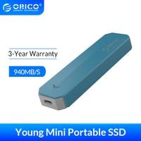 ORICO M2 NVME harici SSD sabit disk 1TB SSD 128GB 256GB 512GB M.2 NVME SSD taşınabilir SSD katı hal sürücü tipi C USB 3.1