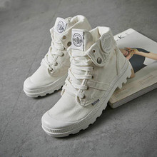 Dropshipping 2019 Fashion High Top Sneakers Canvas Shoes Wom