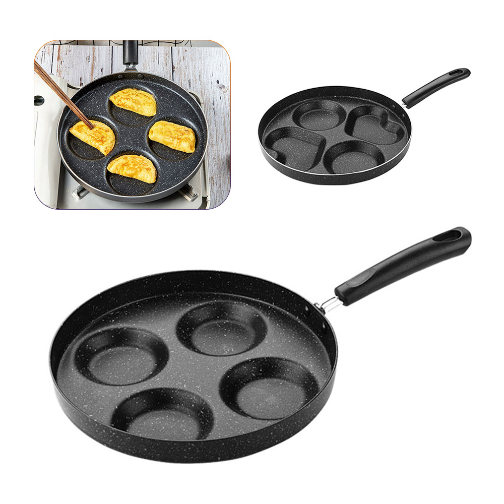 Multi-Function Omelet Pan Creative Non-stick No Oil-smoke Breakfast Grill Pan Cooking Pot For Eggs Ham PanCake Maker Frying Pans