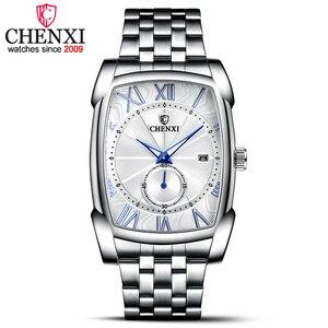 Image 2 - Relojes hombres CHENXI marca reloj de cuarzo reloj para hombre de lujo de estilo nuevo Relogio Masculino militar reloj
