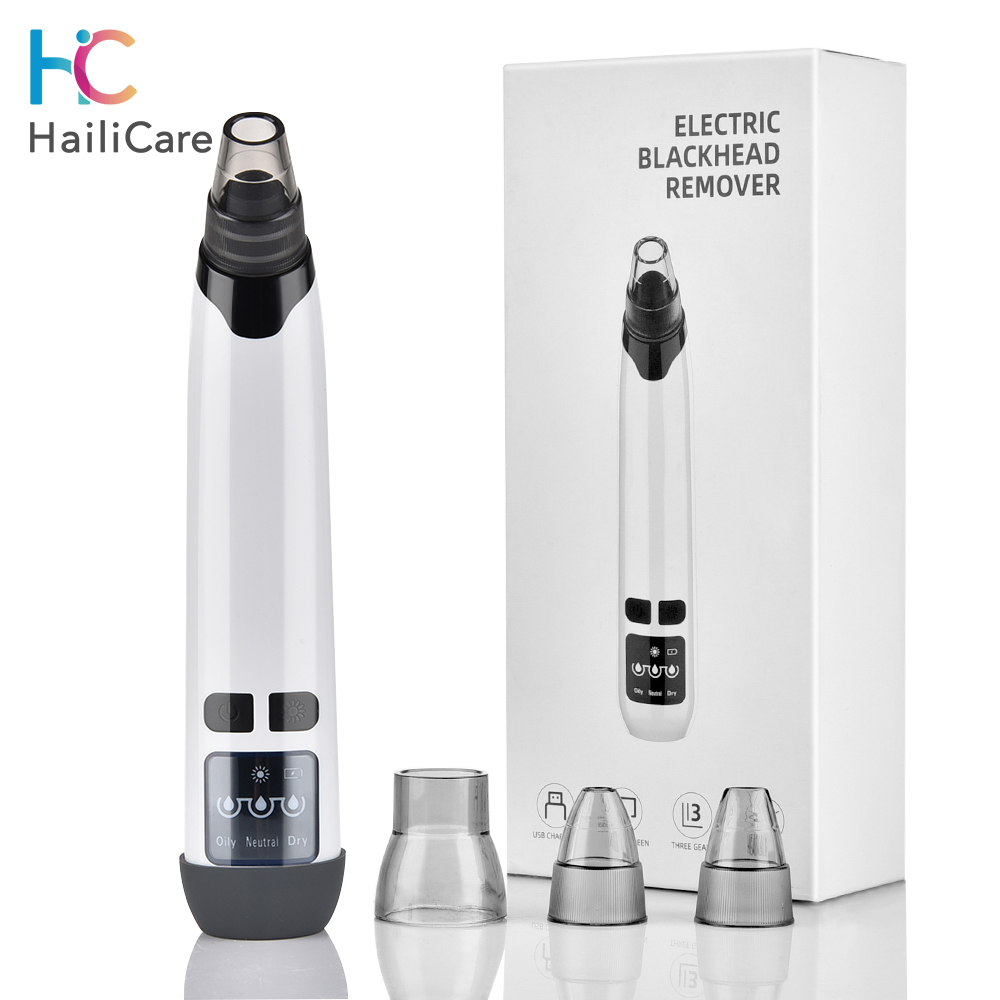 Blackhead Remover Face Deep Cleaner Pimple Acne Vacuum Suction Acne Extractor Black Head Remover Tool Facial Skin Care Machine