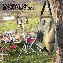 20L Outdoor Bathing BAG Car Camping Solar Hot Portable Bath Storage Water Bags