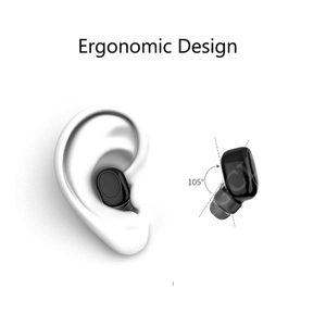 Image 2 - FGCLSY Mini Wireless Blutooth earphone Stereo Hands Free Call Headset with Mic Sport Running Earbuds Earphones For iPhone 8 X
