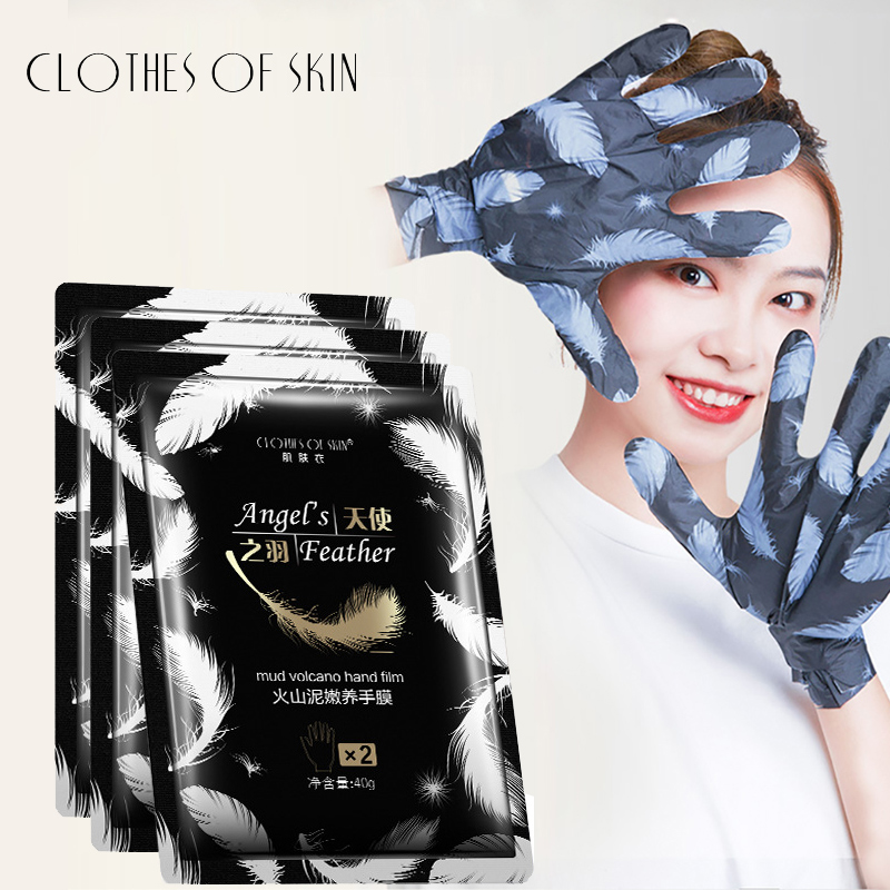 Volcanic Mud Anti-Aging Moisturizing Hand Mask Exfoliating Smoothing Whitening Hand Spa Gloves Skin Care CLOTHES OF SKIN