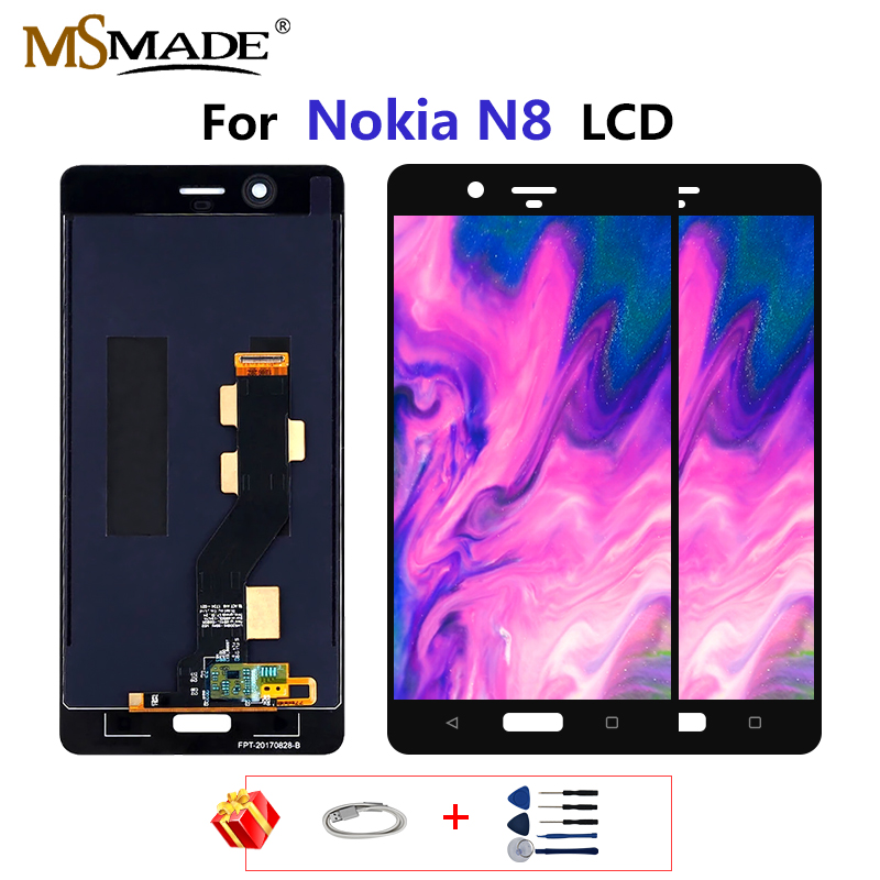 AAA Quality LCD For <font><b>Nokia</b></font> N8 LCD Display Touch Screen Digitizer Assembly Parts For <font><b>Nokia</b></font> 8 N8 <font><b>TA</b></font>-1012 <font><b>TA</b></font>-<font><b>1004</b></font> <font><b>TA</b></font>-1052 LCD image