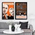 Trainspotting T2 Классический Кино художественная живопись винтажный Холст плакат настенный домашний декор
