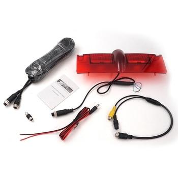 Car Reversing Rear View Camera LED Brake Light Parking Backup for Chevrolet Express Car Accessories