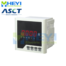 Ampmeter HY AA square type LED single phase digital ampere meter Class 0.5 with 1 loop of switch input and 1 alarm output