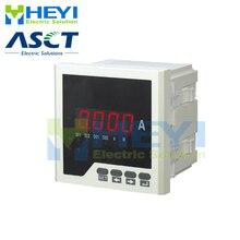 암페어 HY AA 스퀘어 타입 단상 디지털 전류계 클래스 0.5 1 스위치 입력 경보 출력 1