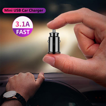 Mini USB Car Charger Adapter 3.1A 4.8A 12V Universal For BMW E38 E39 E46 X3 X5 Z3 Z4 1/3/5/7 Series E90 E60 E36 F30 F10 E34 F20 image