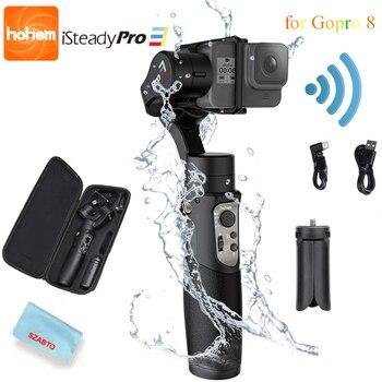 Hohem iSteady Pro 3 Splash Proof 3-Axis Handheld Gimble for Gopro Hero 8 7/6/5/4/3 DJI Osmo Action SJCAM YI Cam Action Camera