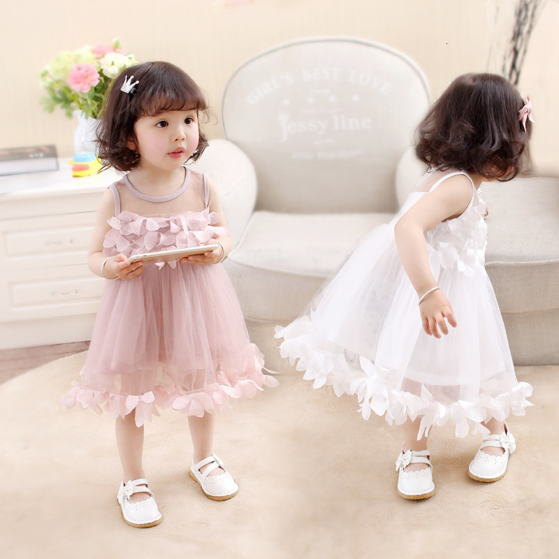 H2777bb9b8a4a4189a021bc9347375942h Girls Dress 2018 Summer Explosion Solid Color Denim Dress Cartoon Polka Dot Bow Cartoon Bunny Satchel Korean Baby Cute Dress