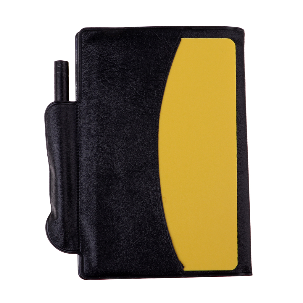 Football Soccer Referee Card Wallet Notebook, Referee Warning & Penalty Card Wallet With Score Sheet Pad, Sports Equipment