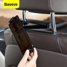 Baseus Soporte de teléfono para coche, accesorio Universal para el asiento trasero del coche, para iPhone 11, Samsung, Xiaomi, iPad