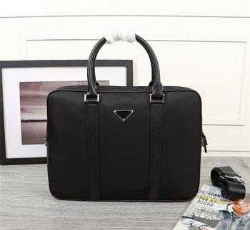 European And American Trend 2020 New Men Portable Briefcase, Waterproof, Design Capacity, Factory Direct
