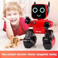 Intelligent financial services remote control robot toy dancing charging boy early education balance robot