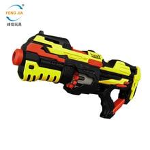 Popular children's toy gun electric continuous shooting soft bullet gun FJ822 air soft gun rifle  toys for children