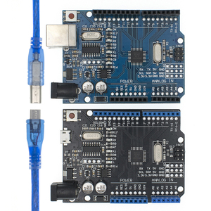 UNO R3 CH340G+MEGA328P SMD Chip 16Mhz For Arduino UNO R3 Development board USB CABLE ATEGA328P One set