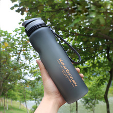 1000ml Plastic Sports Water Bottle Space Kettle Bike Outdoor Cycling Drinkware Fruit Infuser My Shaker Eco-Friendly
