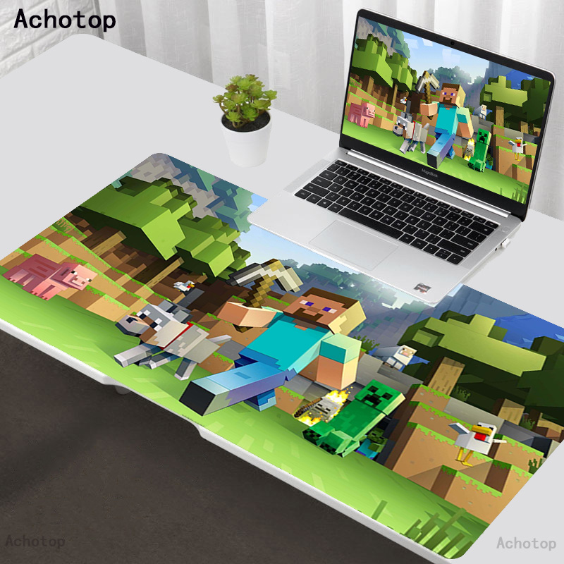 Anime Dungeon Extra Large Gaming Mouse Pad For Computer Gamer Laptop Notebook Keyboard Mouse Carpet Mouse Mat Rubber Table Rug