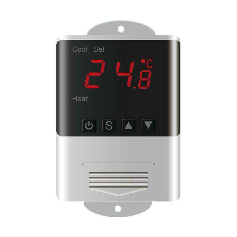 AC 110V 220V DTC-1200 Digital Thermostat Temperature Controller Sensor Heating Cooling For Aquarium