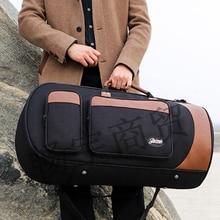 NEW Thickening portable box bag upright key  Euphonium  tenor horn  Baritone case PARST