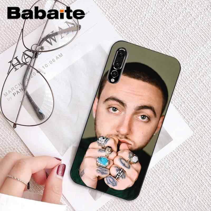 Babaite Mac Miller bricolage Peint Beau mignon Téléphone étui pour huawei P9 P10 Plus Mate9 10 Mate10 Lite P20 Pro Honor10 View10