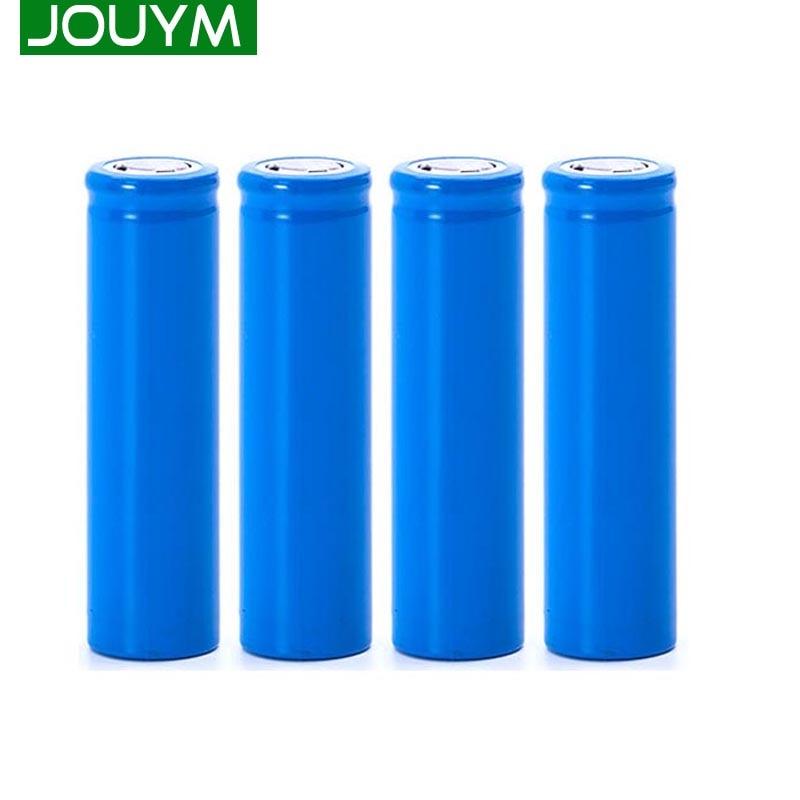 JOUYM 18650 литиевая аккумуляторная батарея 3,7 в 2000 мАч для фонариков