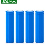 JOUYM 18650 Battery 3.7V 2000 mAh Lithium Rechargeable Battery For Flashlight batteries