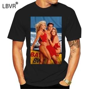 Baywatch TV Show oynatıcı lisanslı yetişkin T Shirt