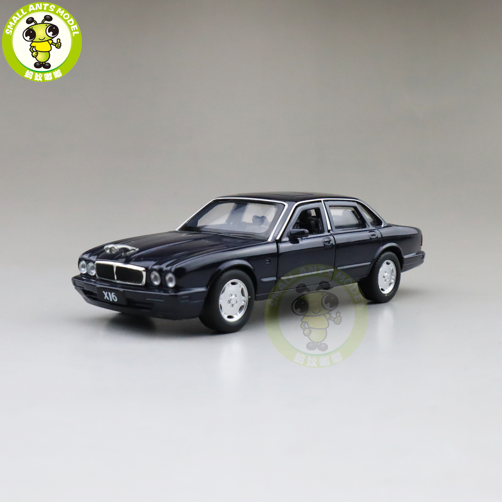 1/36 JACKIEKIM JA GUAR XJ6 XJ-6 Diecast Model CAR Toys For Kids Pull Back Boys Girls Gifts