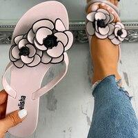 NAN JIU MOUNTAIN 2020 женские тапочки на плоской подошве, с цветами, Нескользящие, износостойкие, пляжная обувь, Вьетнамки, женские сандалии