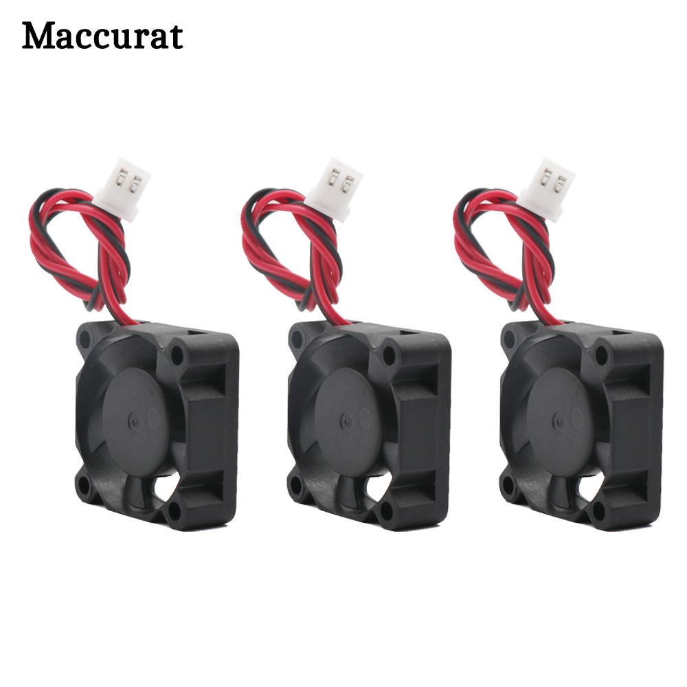 Mcurcat 3D Pinter запчасти 3010 вентилятор 30 мм 30x30x10 мм 12 В 5 в 24 В 2Pin DC кулер маленький охлаждающий вентилятор DIY Reprap для j-головки hotend