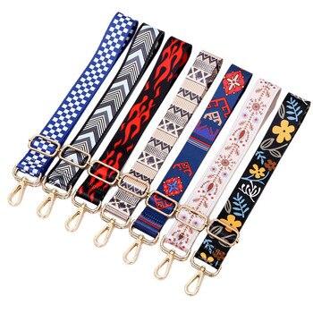 O bag-correa de hombro para mujer, colgador de cinturón de colores, accesorios...