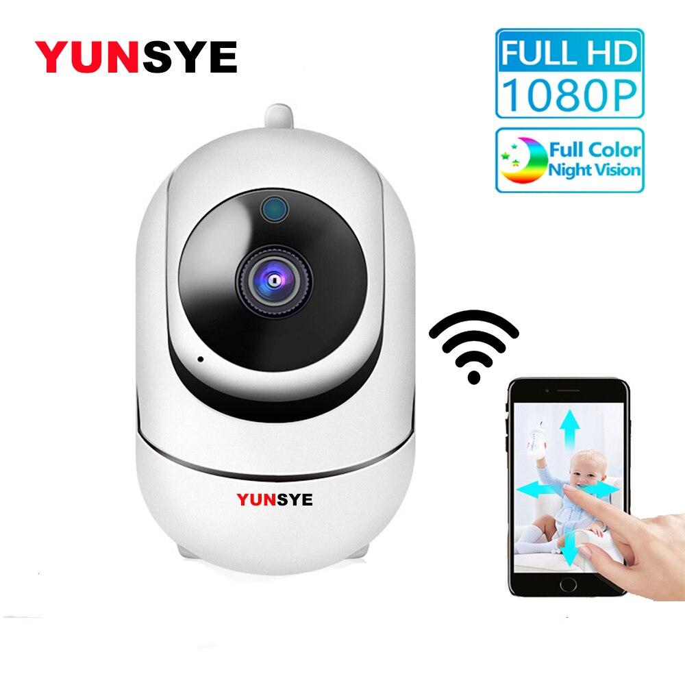 YUNSYE 1080P HD Wireless IP Camera Wifi IP CCTV Camera Wifi Mini Network Video Surveillance Automatic Tracking Camera P2p 360Eye