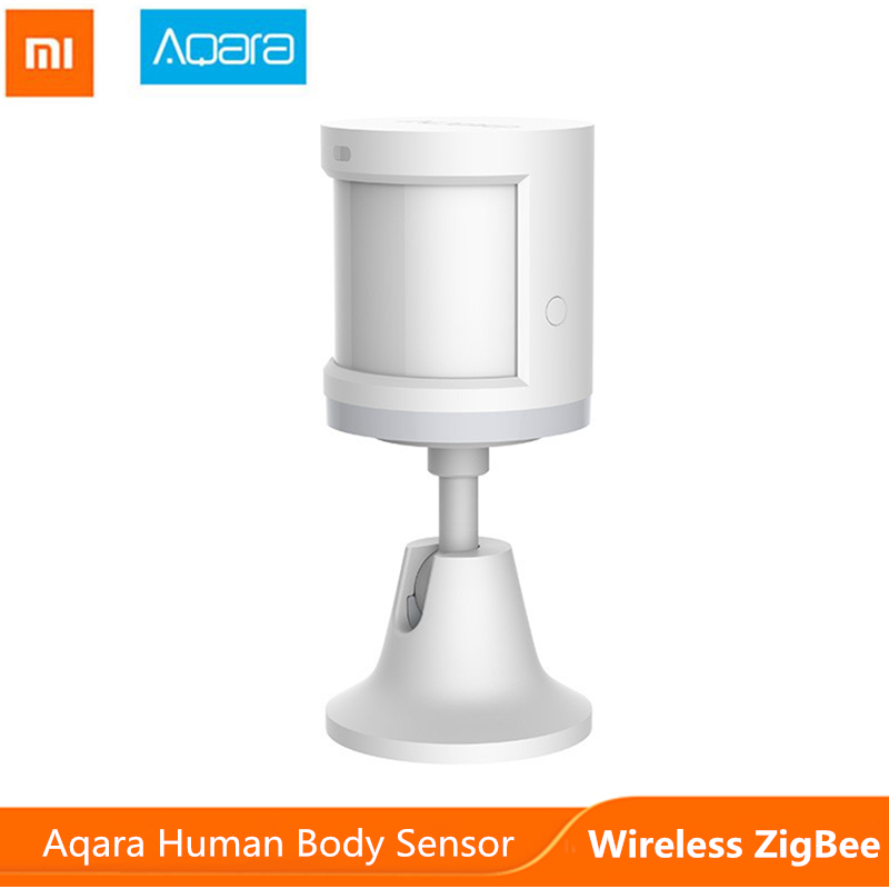 Mijia Aqara Motion Sensor Smart Home Human Body Induction ZigBee Connection For Xiaomi Mi Home Security System Device