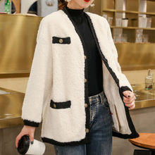 Real Fur Coat Female 100% Wool Jacket Autumn Winter Coat Women Clothes 2020 Korean Vintage Sheep Shearling Manteau Femme ZT4327(China)
