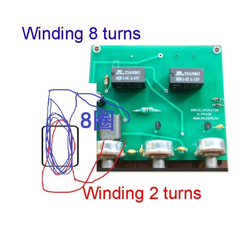 K4EDF 7MHZ 14MHZ 21MHZ 28MHZ  5-35MHZ End Fed Half-Wave EFHW antenna 100W HAM