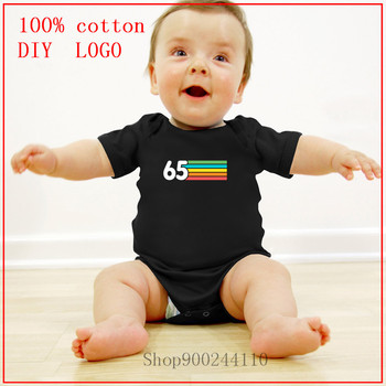 1965 Retro Vintage Birthday Born in 1965 Gift Comfortable All Cotton Costumes Pajamas new born baby boy clothes 3 to 6 months image