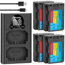 2600mAh NP FZ100 NPFZ100 NP FZ100 batterie + LED double chargeur USB pour Sony NP FZ100, BC QZ1, Sony a9, a7R III, a7 III, ILCE 9