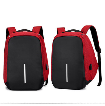 ozuko men backpacks new design waterproof anti theft usb charge large travel bag 15 6 laptop backpack school bags for teenagers Anti-theft Bag Men Laptop Rucksack Travel Backpack Women Large Capacity Business USB Charge College Student School Shoulder Bags