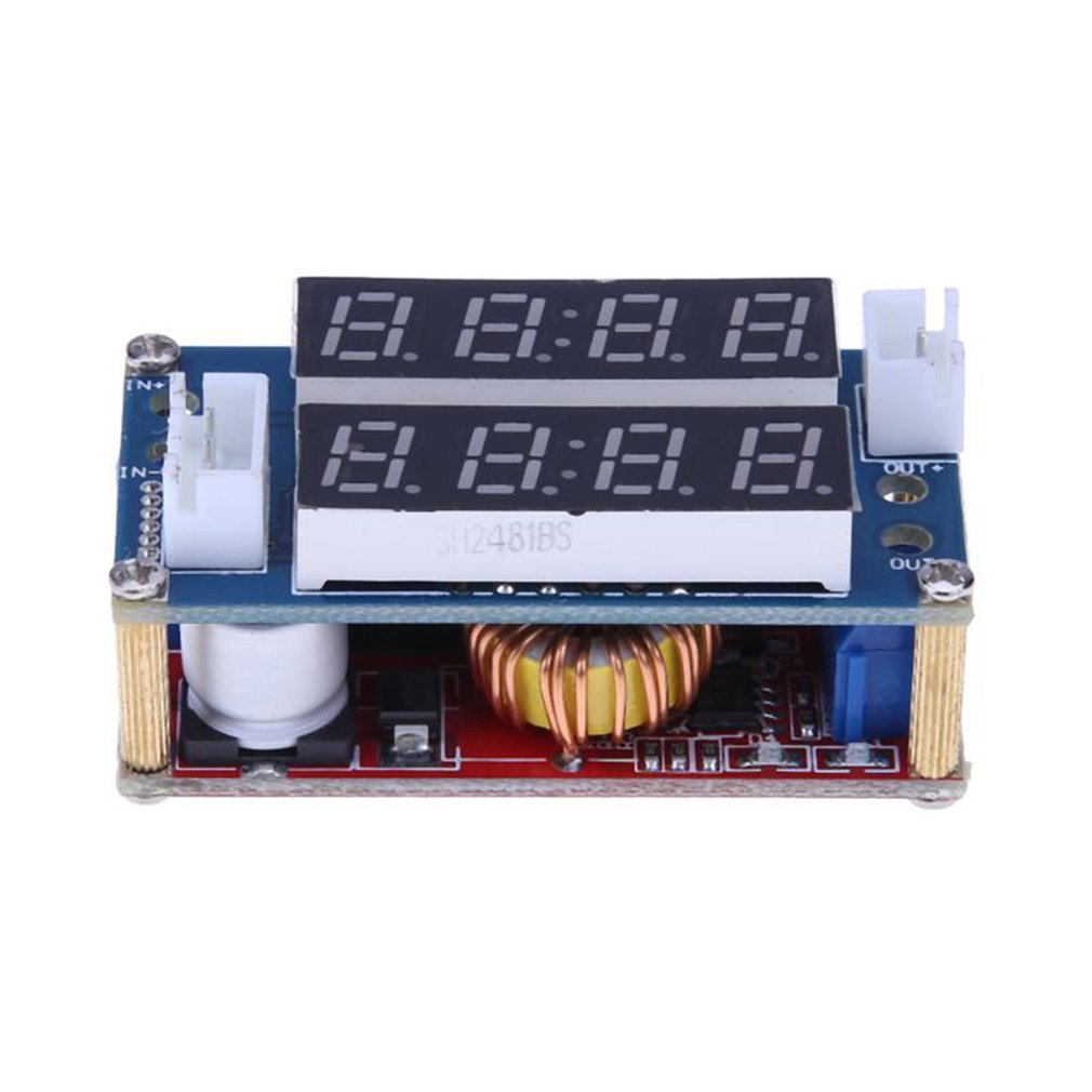 5A Constant Current And Constant Voltage Led Driven Lithium Ion Battery Charging Module With Current And Voltage Meter