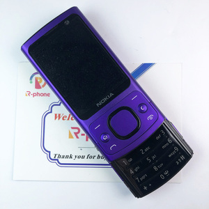 Image 5 - Teléfono Móvil NOKIA 6700 Silder 3G, GSM, desbloqueado, teclado azul e inglés, gran oferta