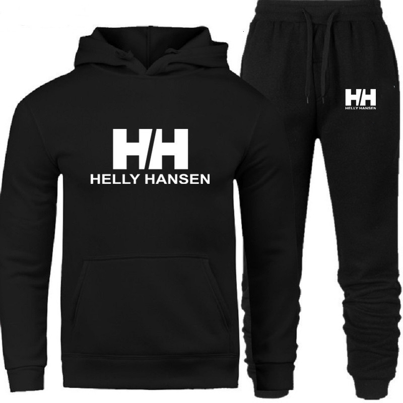 New Sets Of HH Hood Fashion Shirt Brand + Set Of Men's Sports Shirt Sports Clothing With Hood In Autumn Suit For