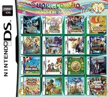 Cartes 208 en 1 pour Nintendo DS, NDS, NDSL, NDSI, 2DS, 3DS, US, multicarte pour jeux vidéo,