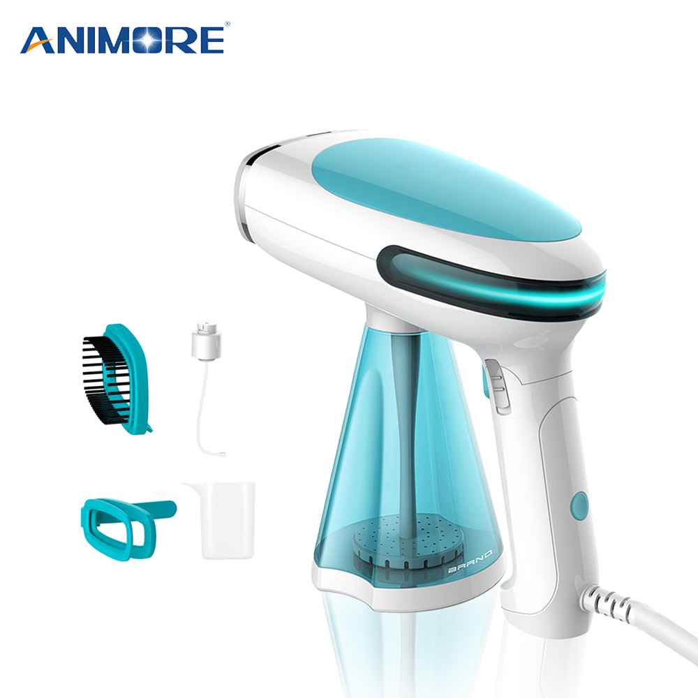 ANIMORE Portable Steamer Travel Household Handheld Ironing Machine Garment Steamer Continuous Spray Home Appliances Steam Iron