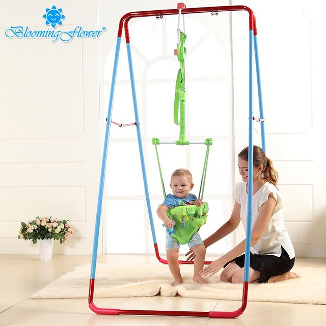Baby Child Jumping Chair Baby Bouncing Chair Fitness Frame Swing Indoor Hanging Chair Toy